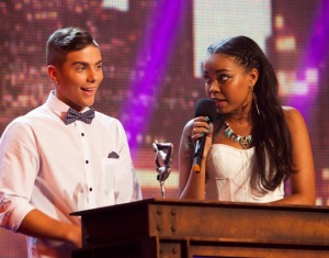 Aidan David and Dionne Bromfield