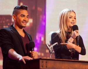 Louis Smith and Laura Whitmore