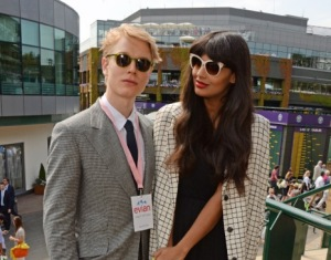 Freddie Fox and Jameela Jamil