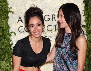 Oona Chaplin and Gemma Chan