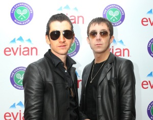 Miles Kane and Alex Turner