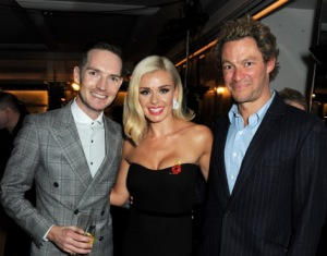Dan Gillespie Sells, Katherine Jenkins and Dominic West