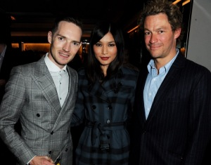 Dan Gillespie Sells, Gemma Chan and Dominic West