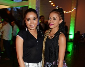 Dionne Bromfield and Melissa Steel