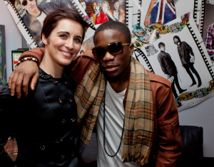 Vicky McClure and Tinchy Stryder