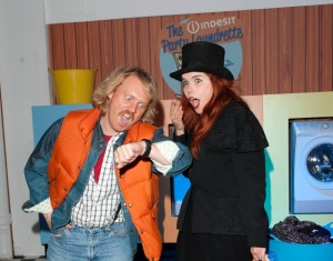 Leigh Francis and Paloma Faith