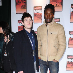 Iwan Rheon and Nathan Stewart Jarrett