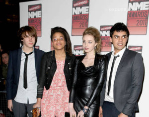 Freya Mavor, Sean Teale and Laya Lewis
