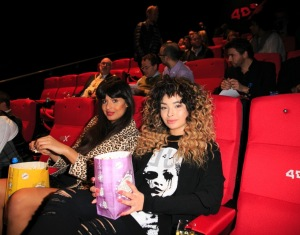 Jameela Jamil and Ella Eyre