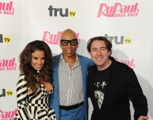 Judges Katie Price, Ru Paul and Jonathan Ross