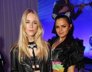 Mary Charteris and Bip Ling