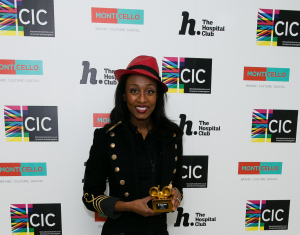 Beverley Knight (won award in Theatre and Performance)