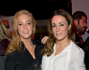 Sarah Jane Mee and Natalie PInkham