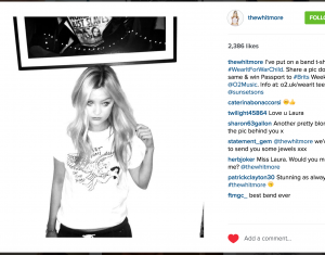 Laura Whitmore for #WearItForWarChild