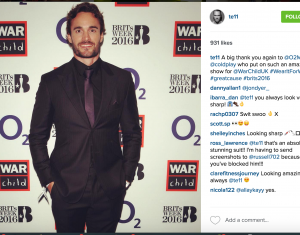 Thom Evans for #WearItForWarChild