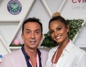 DAY 13. SEMI FINALS. Bruno Tonioli and Alesha Dixon