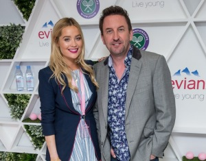 DAY 1. Laura Whitmore and Lee Mack