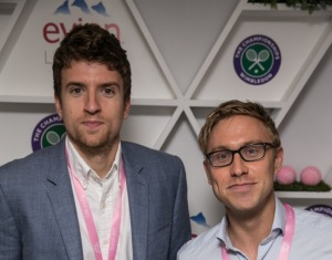 DAY 14. FINALS. Greg James and Russell Howard