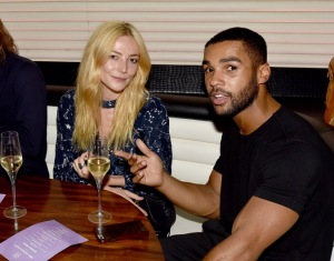 Clara Paget and Lucien Laviscount