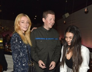 Clara Paget, Professor Green & Vanessa White attend the STK Ibiza pre-launch party at STK London on 21st June 2016 4
