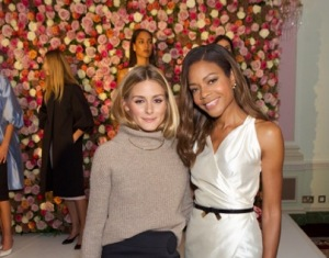 Olivia Palermo and Naomie Harris
