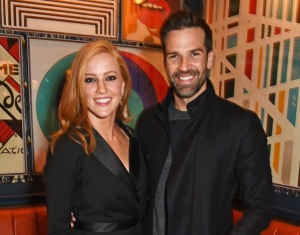 Sarah Jane Mee and Gethin Jones