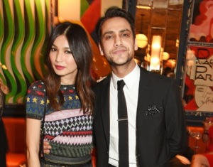 Gemma Chan and Luke Pasqualino