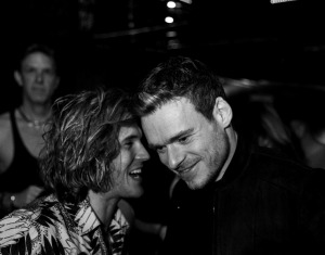 Dougie Poynter and Richard Madden