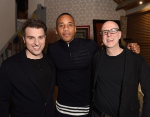 Host Reggie Yates with airbnb and sofar sounds directors
