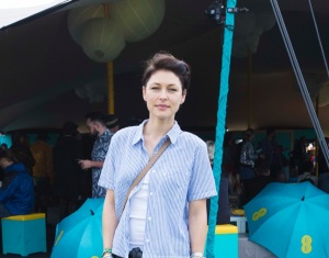 Emma Willis (guest of EE)