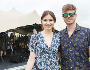 Sophie Ellis Bextor and Richard Jones (DJ)