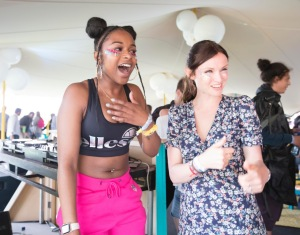 Nadia Rose with Sophie Ellis Bextor