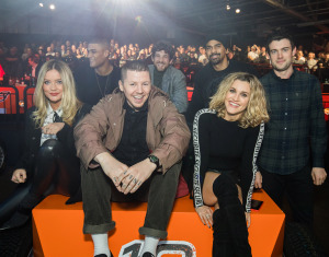 Laura Whitmore, Rob Evans, Professor Green, Max Rogers, David Haye, Ashley Roberts, Jack Whitehall