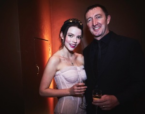 Anya Taylor Joy and Ralph Ineson