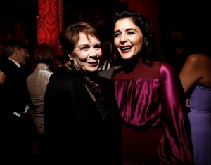 Celia Imrie and Jessie Ware