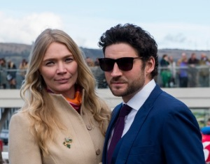 Jodie Kidd and Joseph Bates