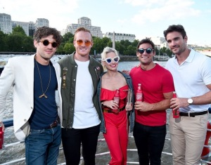 Max Rogers, Greg Rutherford, Kimberly Wyatt, Max Evans, Thom Evans