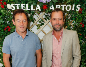 Jason Isaacs and James Purefoy