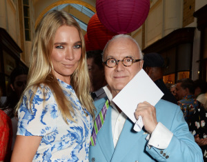 Jodie Kidd and Manolo Blahnik
