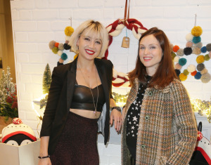 Daisy Lowe and Sophie Ellis Bextor