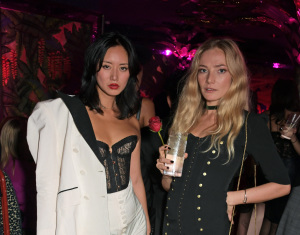 Betty Bachz and Clara Paget