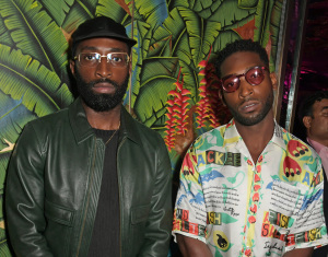 Moses Opiah and Tinie Tempah