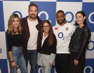 ENGLAND RUGBY 5G AD WITH O2